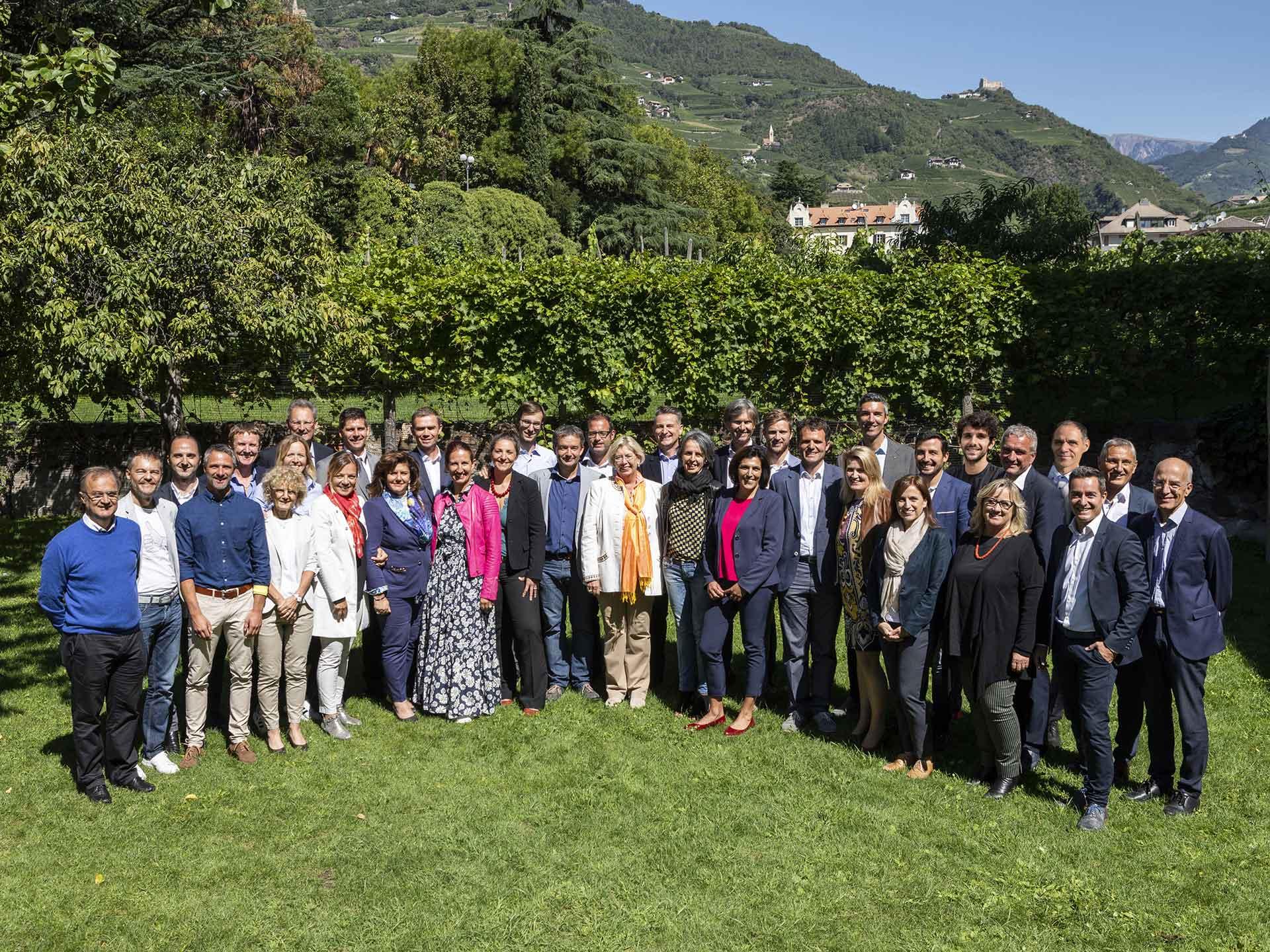Gruppenfoto-Kandidaten