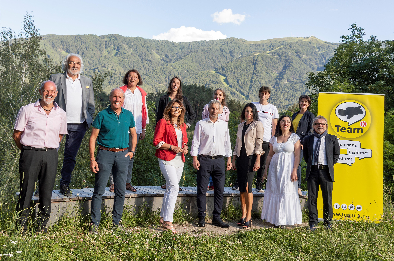 Gruppenfoto Bruneck foto di gruppo Brunico